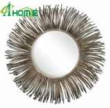 2016 Hotsale Wholesale Wall Mirror/Iron Decoration Round Mirror/Stock Wall Mirror
