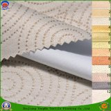 Home Textile Woven Polyester Waterproof Fr Coating Blackout Jacquard Curtain Fabric for Window