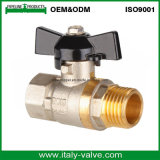 Good Quality Butterfly Handle Cw617n Brass Thread Ball Valve