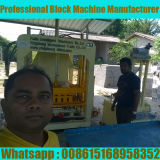 Qt4-18 Hydraulic Interlocking Paver Block Machine in Sri Lanka