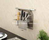 Stainless Steel Kitchen Rack for Bottle and Knife (301)