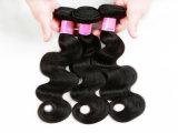 "Wholesale Price Brazilian Human Hair 100% Human Hair Weaving Body Wave18"" Natural Black Color"