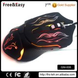 Braided Cable USB Wired Gaming Laser Carving Gaming Mouse