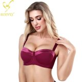 Binnys High Quality Half Cup Plus Size Big Cup 46D Underwire Wholesale Hot Sells Women Bra
