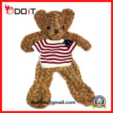Customized  Unstuffed Plush Toys Teddy Bear Skin with T-Shirt