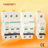 1p, 2p, 3p IC60n IC65 Electrical Mini Circuit Breaker MCB
