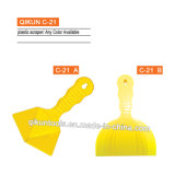 C-21 Construction Decoration Paint Hardware Hand Tools ABS Yellow Color Plastic Scraper Set