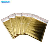 Golden Bubble Bags Padded Mailing Bags Metallic Bubble Envelopes Bubble Mailers with Printing