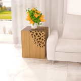 Solid Bamboo Lace End Table/Side Table