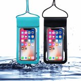 Waterproof Mobile Pouch - Keep Your Phone and Valuables Dry - Perfect for Swimming Diving Boating Fishing Beach