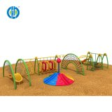 Large Multifunctional Physical Training Climbing Slide Outdoor Playground Equipment for Kids