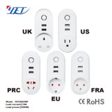 Wireless WiFi USB Port Smart APP Wi-Fi Power Plug Socket Yet6003