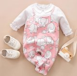 Baby Romper Pink Girl Printed Baby Clothes Infant Apparel Baby Pajama Baby Wear Children Clothes