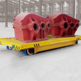 Heavy Industry Rubber Wheel Electric Transport Car