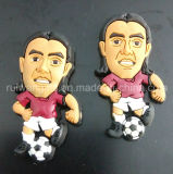 3D Soft PVC Souvenir Magnet for Football Club