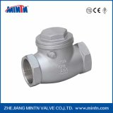 Mintn Stainless Steel Thread Connection Swing Check Valve