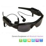 Hot Sellling HiFi MP3 Camera Bluetooth Sunglasses Support TF Card Rt-363