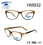 Fashion Women Gradient Acetate Optical Frame Eyeglasses (HM932)