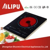 Metal Body Frame and CE/CB/EMC/RoHS Certification Double Circle Ultra Thin Infrared Stove/Electric Ceramic Hob Cooker