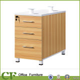 3 Drawer Office Furniture Storage Cabinets Fixed Pedestal