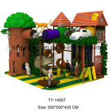 Exciting and Interesting Big Commercial Jungle Indoor Playground