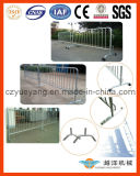 Portable Crowd Control Barrier for Multi Use