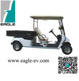 Utility Golf Cart, 2 Seats with Rear Long Cargo Box, Electric