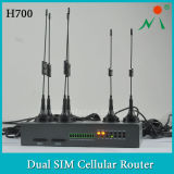 Dual SIM One Modem 3G HSUPA Router with Cold Standby Feature for Each Other
