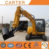 Carter CT45-8b (4.5t) Crawler Backhoe Mini Excavator with Rubber Tracks