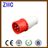 32A 3 Phase Eearth Connecting Mobile Plug for Cable