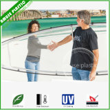 No Inflatable Unbreakable Lexan Polycarbonate Hull Clear Kayak Plastic Canoe