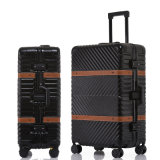 OEM Cheap Leisure Business Travel Portable ABS+PC Hand Luggage Set