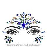 Mermaid Face Jewels Rhinestone Tattoo Festival Gems Eyes Body Jewelry (E10)