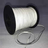 Silver 100% Polyester Double Side Reflective Thread Yarn