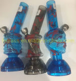 Functional Cheap Acrylics Water Pipes Smoking Pipe with Herb Grinder