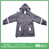 Hoodies 3-in-1 Polyester Talson Jacket in Gray