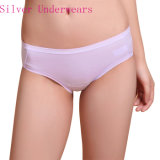 Anti-Bacterial Silver Fiber Lace Seamless Underwear for Women