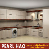 Modular MDF Melamine Design Wood Kitchen Cabinet