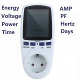 Power Meter Plug Socket Energy Watt Voltage AMPS Meter with Electricity Usage