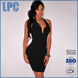 Fashion Black Sexy Bodycon Dress