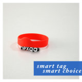 RFID NFC Silicone/ Tickets Festival Woven Smart Wristband with Chip MIFARE Classic 1K