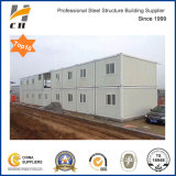 Factory Price Prefab/Prefabricated Light Weight Steel Structure Low Cost Worker Dormitory / Two Storey Office Container House Labor Camp for Africa