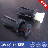 Customized Mould/Machining Black/White Plastic Rivet/Screw/Nut