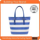 Wholesale Certification Printing Fashion Polyester Iadies Tote Bag (BDM060)