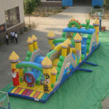 Inflatable Bouncy Castle in Outdoor