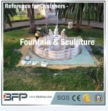 Natural Stone Granite & Marble Fountain Landscape in Villa Decoration