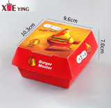 Custom Printed Disposable Mini Paper Food Grade Packing Burger Box, Food Box Paper