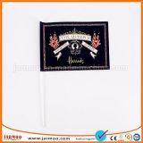 Cheap Fabric Small Flag Custom Hand Held Flags with Flag Pole