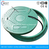 En124 Waterproof Anti-Fall Net Tank SMC Manhole Cover