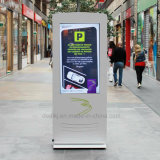 Floor Standing LCD Advertising Display Waterproof Outdoor Kiosk Screen Standalone Digital